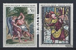 1963 Francia Yv# 1376/1377  **MNH  Perfecto Estado. Arte (Yvert&Tellier)  Arte - France