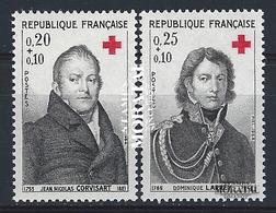 1964 Francia Yv# 1433/1434  **MNH  Perfecto Estado. Cruz Roja (Yvert&Tellier)  Cruz Roja - France