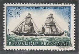 1965 Francia Yv# 1446  **MNH  Perfecto Estado. Dia Del Sello (Yvert&Tellier) - France