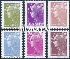 2010 Francia Yv# 4473/4478  **MNH  Perfecto Estado. Marianna.- Beaujard (Yvert&Tellier)  Flora - Francia
