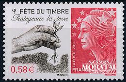 2011 Francia Yv# 4534  **MNH  Perfecto Estado. Dia Del Sello (Yvert&Tellier) - France