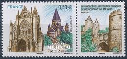 2011 Francia Yv# 4554  **MNH  Perfecto Estado. Asociaciones Filatélicas (Yvert&Tellier)  Deportes - Neufs
