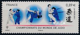 2011 Francia Yv# 4574  **MNH  Perfecto Estado. Mundial De Judo (Yvert&Tellier) - Neufs