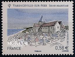 2011 Francia Yv# 4562  **MNH  Perfecto Estado. Turística. Varengeville Sur Mer (Yvert&Tellier)  Organismos - Neufs