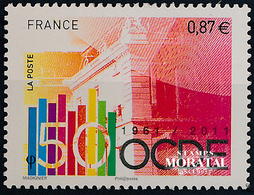 2011 Francia Yv# 4563  **MNH  Perfecto Estado. Aniv. OCDE (Yvert&Tellier)  Ferrocarril - Neufs