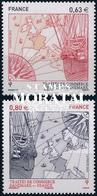 2013 Francia Yv# 4817/4818  **MNH  Perfecto Estado. Tratados Comerciales (Yvert&Tellier) - Frankreich