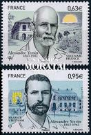 2013 Francia Yv# 4798/4799  **MNH  Perfecto Estado. Alexandre Yersin (Yvert&Tellier) - Frankreich