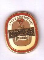 N2 Pin's Beer Biere OLD LAGER Mutzig ALSACE Qualité Arthus Signé Drago Achat Immédiat - Bière