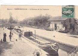 45-loiret-amilly- La Tuilerie-péniche - Amilly