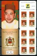 MOROCCO MAROC MAROKKO CARNET 10 TIMBRES ROIS MOHAMMED VI 2019 - Morocco (1956-...)