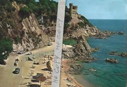 """Lloret De Mar (Costa Brava) 304 Plage """"Sa Caleta"""" Et Le Château - Spain"""