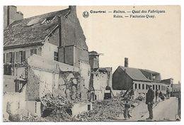 Kortrijk   Ruines   Quai Des Fabriques - Kortrijk