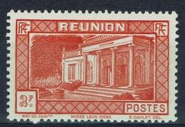 Réunion Island, 2f, Museum Leon-Dierx, Saint-Denis, 1933, MNH VF - Réunion (1852-1975)