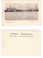 AK Schwerin Mit Schweriner Schloss, UPU Monochrom Ungebraucht #PA072 - Germania
