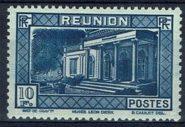 Réunion Island, 10f, Museum Leon-Dierx, Saint-Denis, 1933, MNH VF - Réunion (1852-1975)