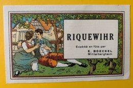 15088  -  Alsace  Riquewihr E.Boeckel - Unclassified