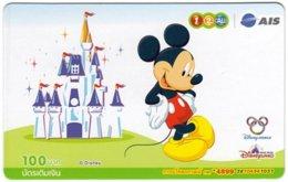 THAILAND G-898 Prepaid 1-2-Call - Walt Disney, Mickey Mouse - Used - Thaïlande