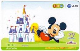 THAILAND G-899 Prepaid 1-2-Call - Walt Disney, Mickey Mouse - Used - Thaïlande