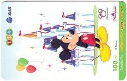 THAILAND G-904 Prepaid 1-2-Call - Walt Disney, Mickey Mouse - Used - Thaïlande