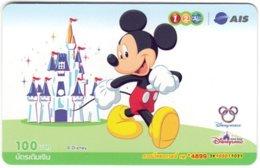 THAILAND G-906 Prepaid 1-2-Call - Walt Disney, Mickey Mouse - Used - Thaïlande