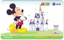 THAILAND G-907 Prepaid 1-2-Call - Walt Disney, Mickey Mouse - Used - Thaïlande