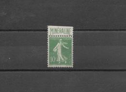 FRANCE - BELLE MINÉRALINE N°188A - COTATION 725€ - NEUF - France