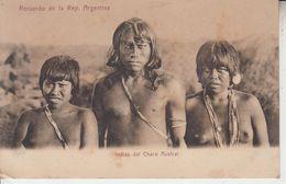 Recuerdo De La Républica Argentina - Indios Del Chaco Austral  PRIX FIXE - Argentina