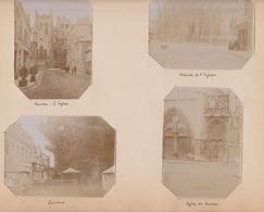 Louviers, Lot De 4 Photos Datées De 1903 - Oud (voor 1900)