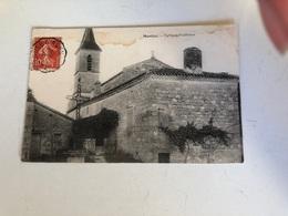 Cpa 82 Montjoi église Et Presbytere - Autres Communes