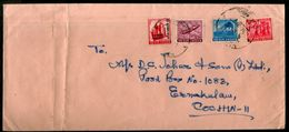 India 1971 Multi Franking Cover With Refugee Relief Tax Stamp As Additional RRT Used # 6552 - Briefe