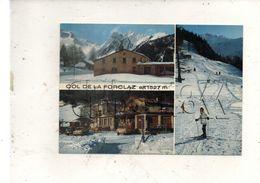 Martigny (Suisse, Valais) : 3 Vues De La Station De Ski De La Forclaz En 1990 (animé) GF. - VS Valais