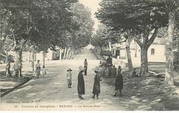 ENVIRONS DE CASTIGLIONE- BERARD- GRAND RUE -.ALGERIE.LA  CARTE SE TROUVE EN FRANCE. - Otras Ciudades