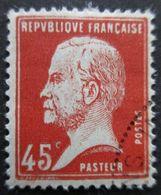 France N°175 LOUIS PASTEUR Oblitéré - Louis Pasteur