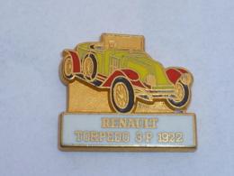 Pin's RENAULT, TORPEDO 3P  1922, Signe CEF - Renault