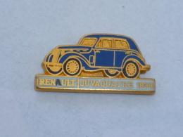 Pin's RENAULT, JUVAQUATRE 1939, Signe CEF - Renault