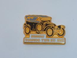 Pin's RENAULT, TORPEDO TYPE EU 1917, Signe CEF - Renault