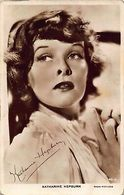 Actress Katharine Hepburn Radio Pictures Postcard - Acteurs