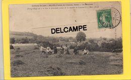 02 AISNE AILLES ENVIRONS DE LAON CANTON DE CRAONNE LE PANORAMA LA MOISSON - Other Municipalities