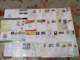 India 2012 Year Pack Of 33 FDCs On Olympic Games Lighthouse Joints Issue Wildlife Animals Aviation - Inde