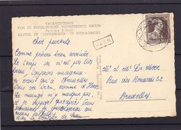 GRIFFE HEER Et Oblitération Diamant  / Carte - 1934-1935 Léopold III