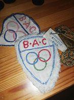 RARE ET EXCEPTIONNEL ECUSSON BOIS GUILLAUME ATHLETIC CLUB B.A.C SEINE MARITIME NORMANDIE 76 1948 - Bekleidung, Souvenirs Und Sonstige