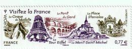 TIMBRE -  2012  - N°4661  - Europa , Visitez La France -    Neuf Sans Charnière - Frankreich