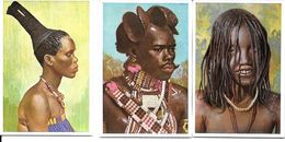 BR20 - IMAGES CIGARETTES REEMTSMA - COIFFURES AFRICAINES - ZOULOU - NORD CAMEROUN - - Other Brands