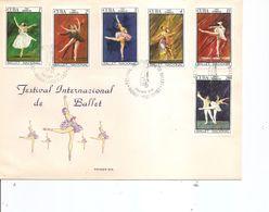 Cuba (  FDC De 1967 à Voir) - FDC