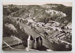 Carte Postale : 31 En Avion Au-dessus De SAINT-MARTORY, Le Château Sur Les Bords De La Garonne - France
