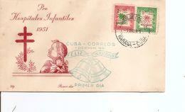 Cuba ( FDc De 1951 à Voir) - FDC