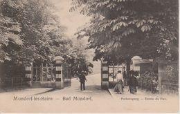 MONDORF - ENTREE DU PARC - PARKEINGANG - NELS SERIE 3 N° 2 - Mondorf-les-Bains