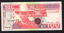 NAMIBIA  : 100  Dollars  - P9A - UNC - Namibië