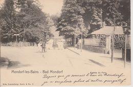 MONDORF - ENTREE DU PARC - NELS SERIE 3 N° 2  DIFFERENTE DE LA PRECEDENTE - Mondorf-les-Bains