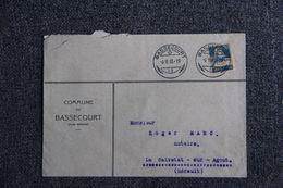 Enveloppe Publicitaire - Commune De BASSECOURT. - Suisse